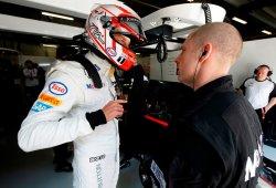 Button, sancionado por su accidente con Maldonado