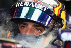 Carlos Sainz saldrá a ciegas en Shanghai