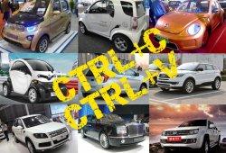 Las copias chinas de coches más descaradas ¡Que no te den gato por liebre!