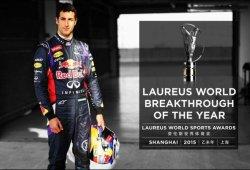Daniel Ricciardo gana el premio Laureus 2015 a deportista revelación