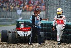 Desaparece la puzolana que arruinó el GP de China 2007 a Hamilton