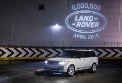 Land Rover celebra las seis millones de unidades fabricadas