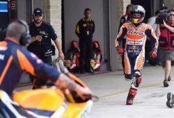 Marc Márquez (MotoGP), Johann Zarco (Moto2) y Danny Kent (Moto3) salen desde la pole