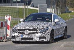 Mercedes-AMG C 63 Coupe 2016, sus más de 500 CV ya en pruebas