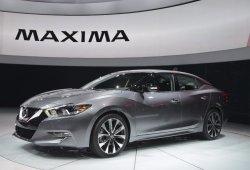 Nissan Maxima 2016, la berlina deportiva de cuatro puertas se hace oficial