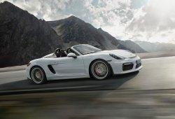 Nuevo Porsche Boxster Spyder, un roadster en estado puro