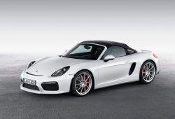 Porsche Boxster Spyder GT4, planes a la vista