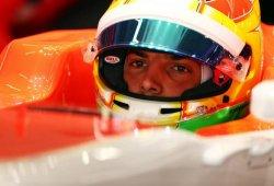 Roberto Merhi, último y sancionado en China