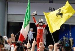 Vettel quiere más banderas en Maranello