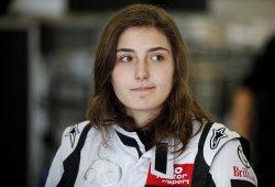 """Tatiana Calderón: """"No hay suficientes pilotos para un campeonato de F1 femenino"""""""