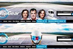 Top Gear cambia la cabecera de su página web