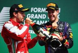 """Vettel: """"Alonso es el rival que más complicado me lo ha puesto"""""""