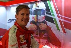 Vettel, feliz con su pleno de podios en Ferrari