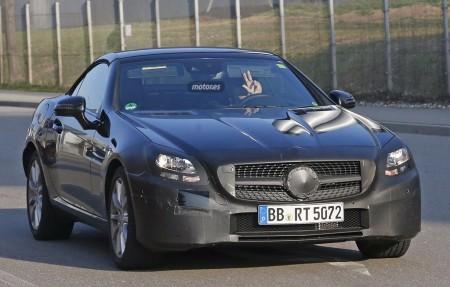 El Mercedes SLC 2016 pillado de nuevo