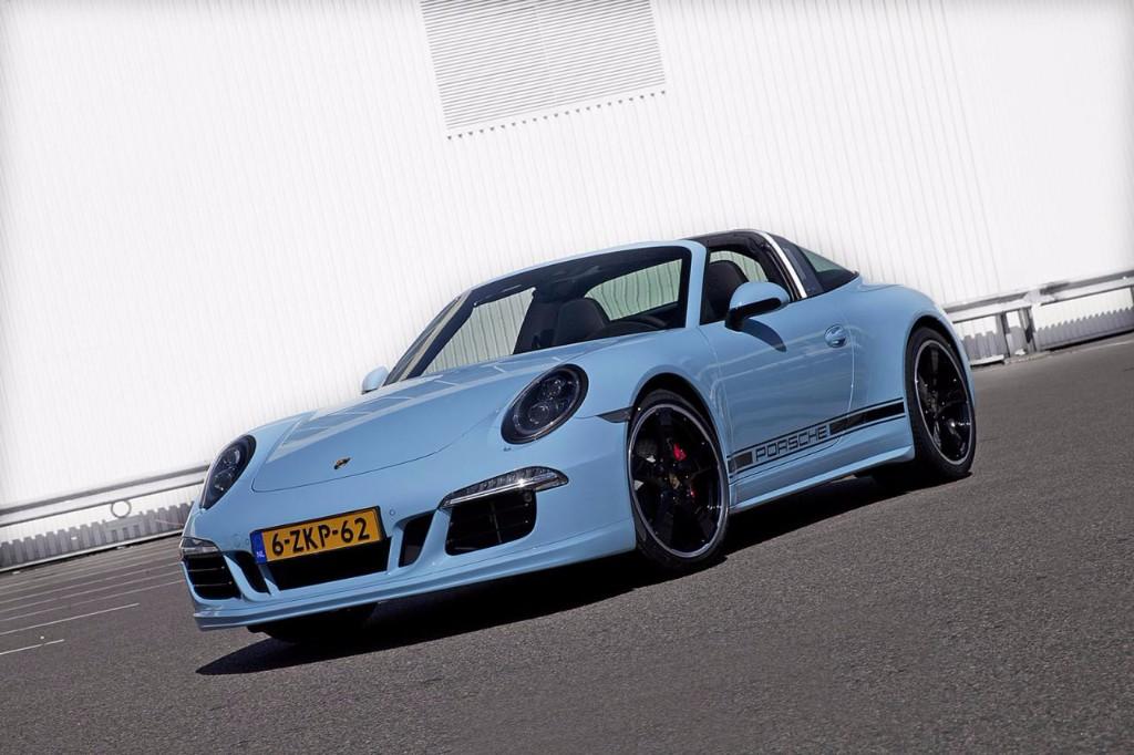 Porsche 911 Targa Exclusive Edition, celebrando el 50 aniversario del Targa