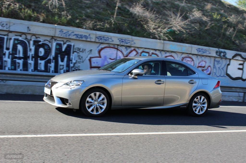 Prueba Lexus IS 300h: En marcha, conclusiones y valoración (III)
