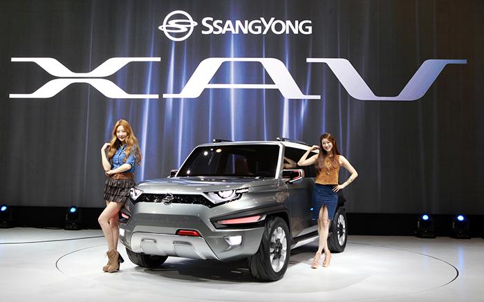 SsangYong XAV Concept, rescatando el diseño 4x4 más clásico