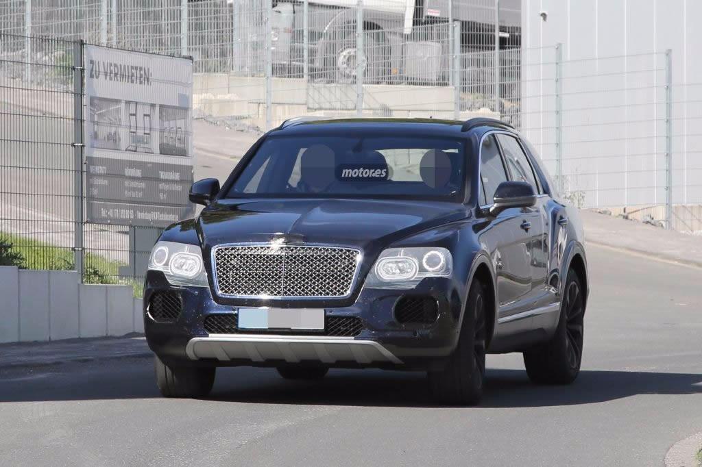 Bentley Bentayga, el nuevo SUV se muestra al desnudo