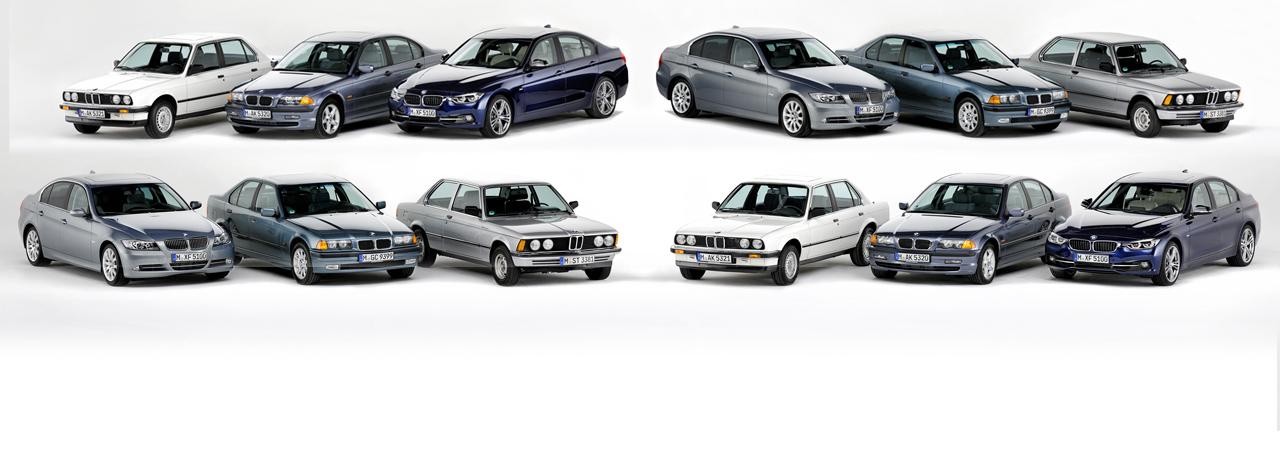 BMW Serie 3 y sus 40 años: porque cuatro décadas no son nada