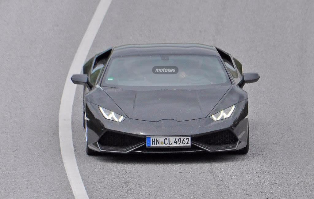 Lamborghini Huracán SV / Superleggera pillado en España