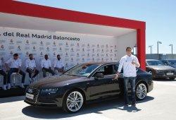 Audi hace entrega a los jugadores del Real Madrid de baloncesto un A7 Sportback