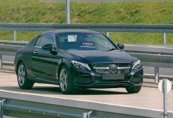 Mercedes Clase C Coupe 2016, en nuevas fotos espía
