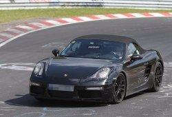 El Porsche Boxster 2016 se deja ver en el circuito de Nürburgring