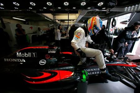 """Alonso, tras caer en Q2 por avería: """"Es una putada"""""""