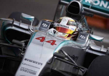 Primera y espectacular pole de Hamilton en Mónaco