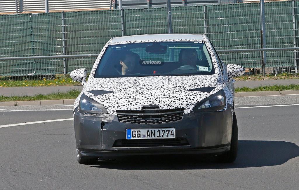 Opel Astra GSi 2016, el deportivo a rebufo del OPC ya está en pruebas