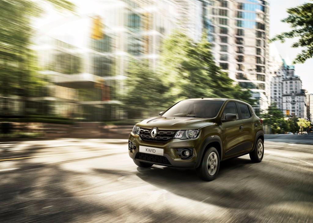 Renault KWID, el hermano indio del Duster ha llegado