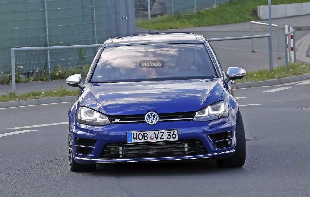 Volkswagen Golf R400, el modelo de producción comienza sus pruebas