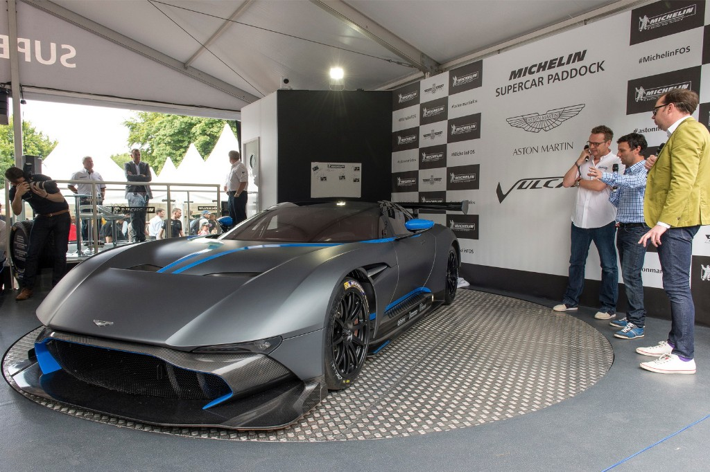 Aston Martin Vulcan en Goodwood 2015, puro espectáculo