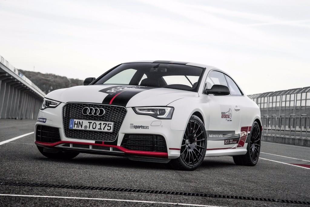 El Audi RS 5 TDI competition concept es él más rápido en Sachsenring