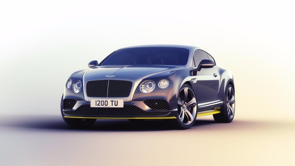 Bentley Continental GT Speed Breitling Jet, colores especiales para siete unidades