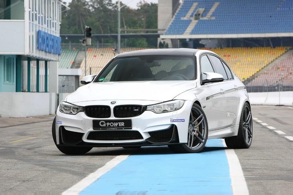 BMW M3 2015 y G-Power, 560 CV gracias a la reprogramación electrónica