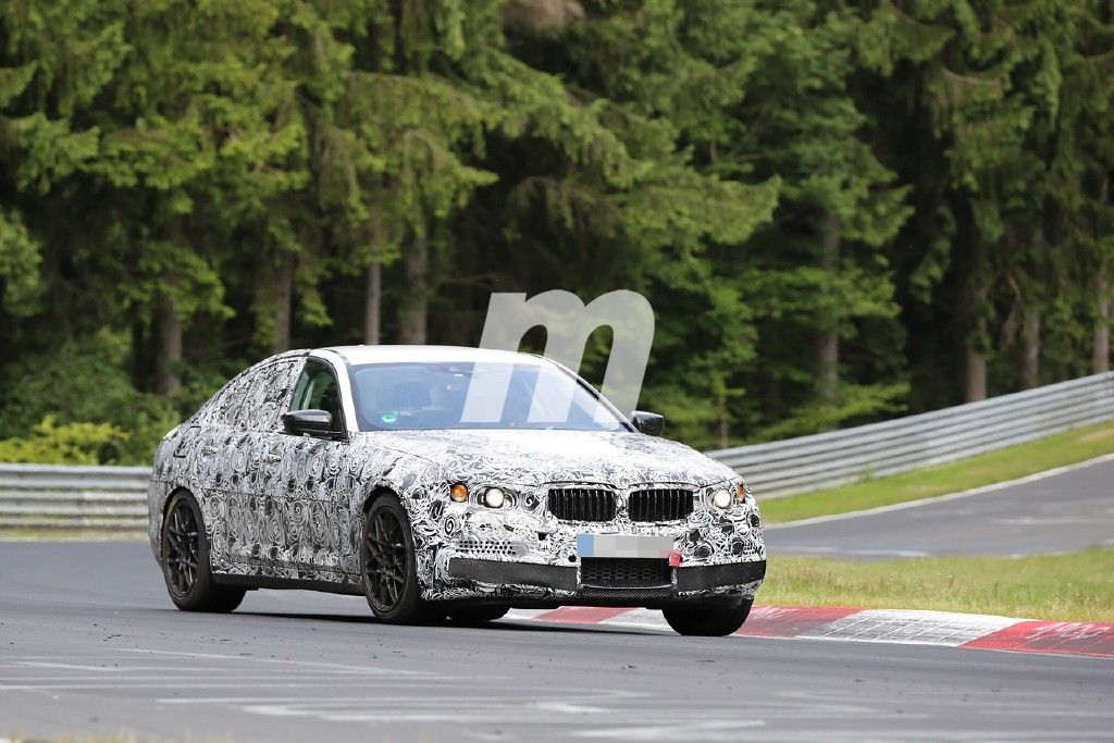 BMW M5 2016 en Nürburgring ¡Primeras fotos!