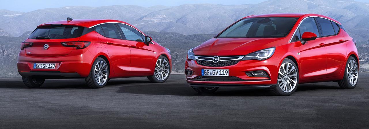 El Opel Astra 2016, presentado oficialmente