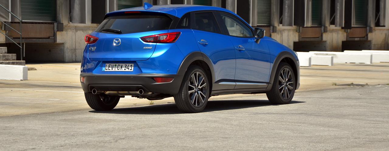 Prueba Mazda CX-3: Motores, equipamiento y precios (I)