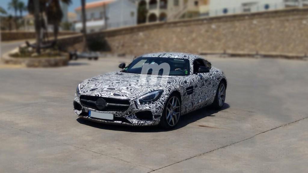 Fotos espía Mercedes AMG GT Black Series