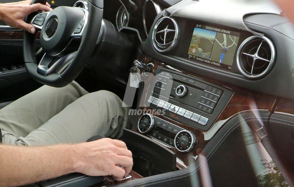 Primeras fotos del interior del próximo Mercedes SL