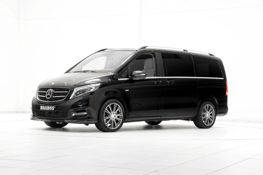 Brabus nos muestra todo lo que la Mercedes Clase V es capaz de dar