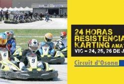 El Circuit d´Osona organiza las 24 horas de karting amateur