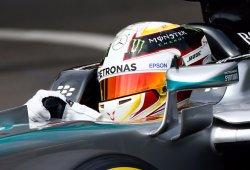 Accidente y mejor tiempo para Hamilton en los segundos libres de Canadá