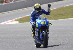 Aleix Espargaró y Suzuki sorprenden logrando la pole en Montmeló