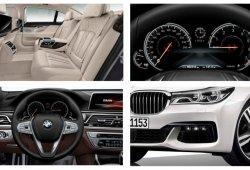 BMW Serie 7 detalles filtrados desde su configurador