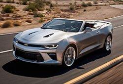 Chevrolet Camaro Convertible 2016, en sus primeras imágenes filtradas