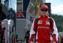 Ferrari asegura que no es hora de decidir el futuro de Kimi Raikkonen