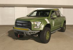 "Ford F-150 Halo Sandcat, la pick-up inspirada en ""Halo 5: Guardians"" de Xbox"