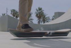 Lexus Hoverboard, el monopatín flotante que todos queremos probar